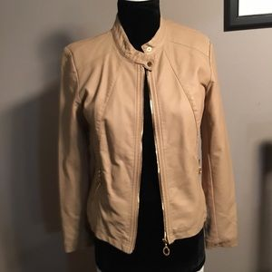 Ivanka Trump Faux Leather Jacket